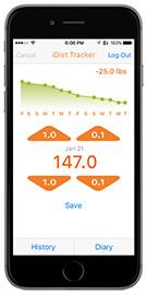 iDiet iPhone App