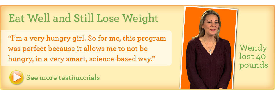 Eat well and still lose weight