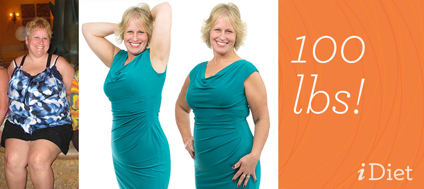 Congratulations to Christine on her 100lb weight loss