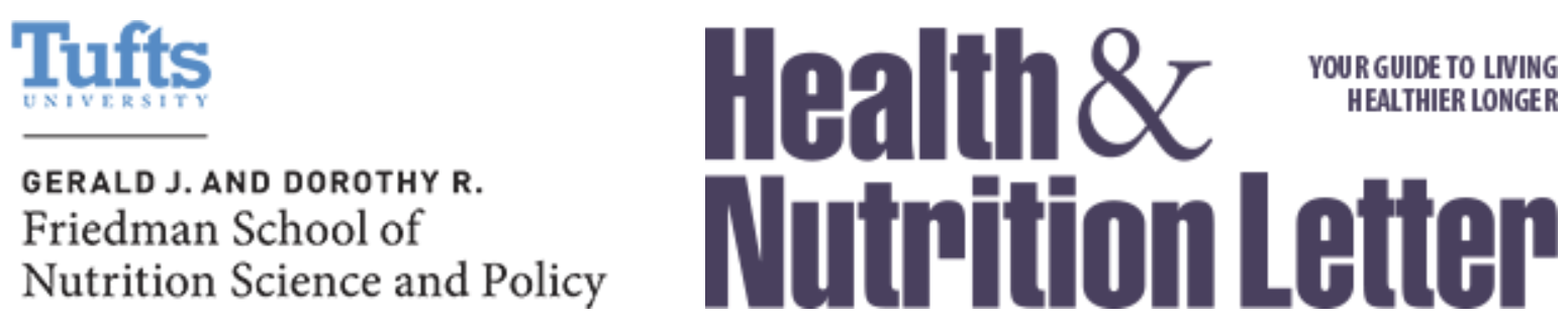 Tufts Health Nutrition Newsletter
